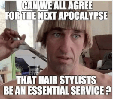 Haircuts After Lockdown Meme