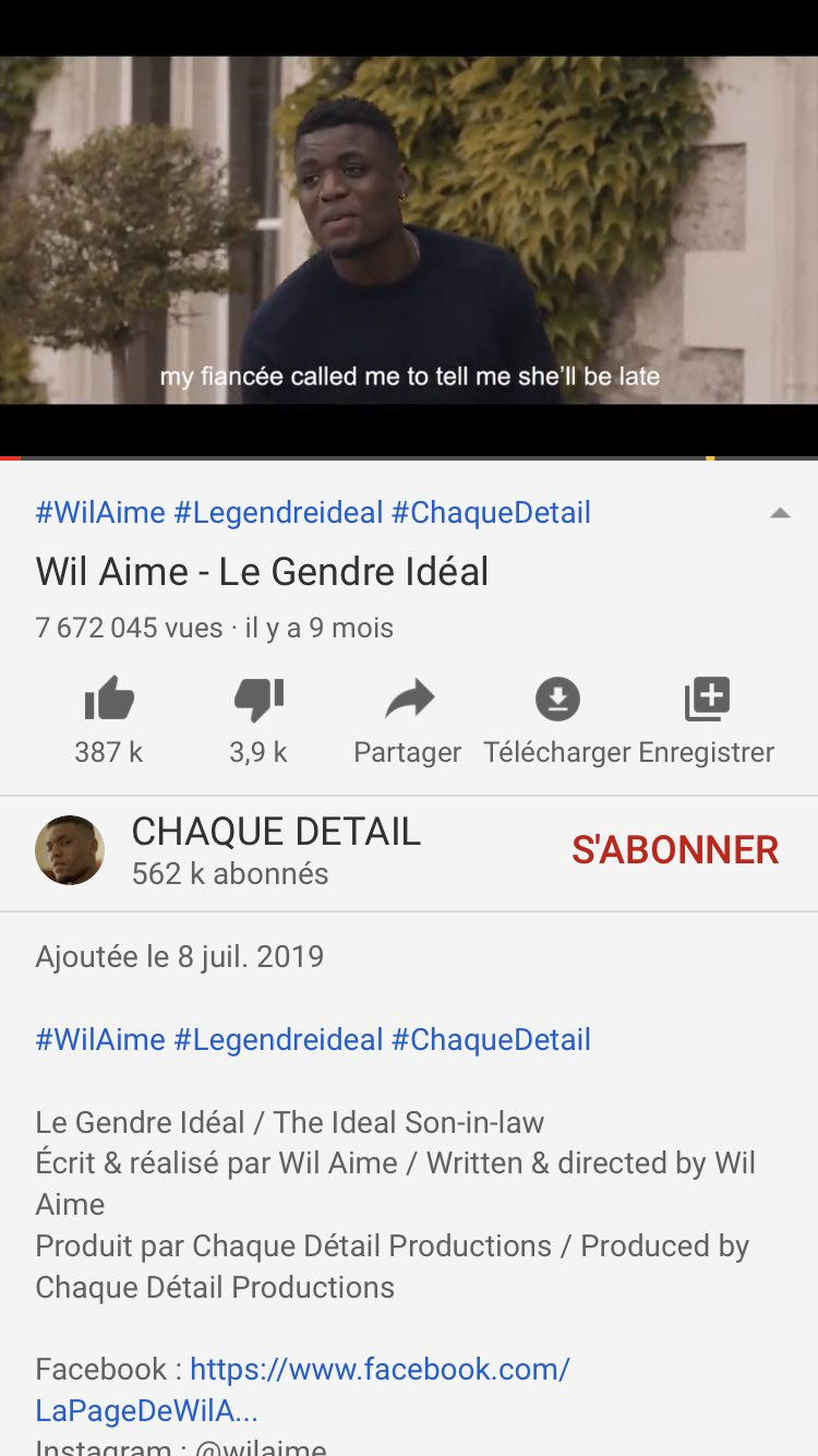 Le Gendre Ideal Wil Aime : gendre, ideal, Aurelien, Twitter:, @WilAime…