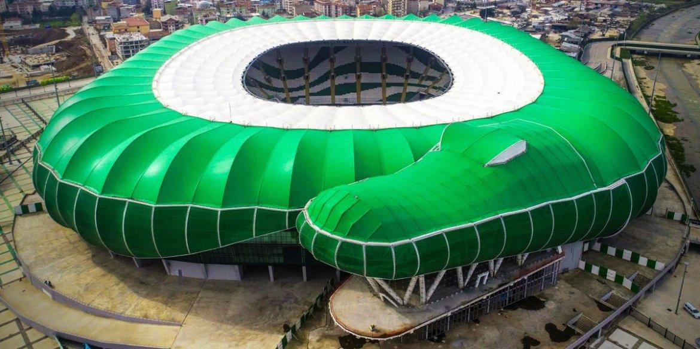 "FútbolAñejo on Twitter: ""🏟️Timsah Arena 🇹🇷 Turquía Club: Bursaspor KD Capacidad: 43.330 Inaugurado: 2015… """