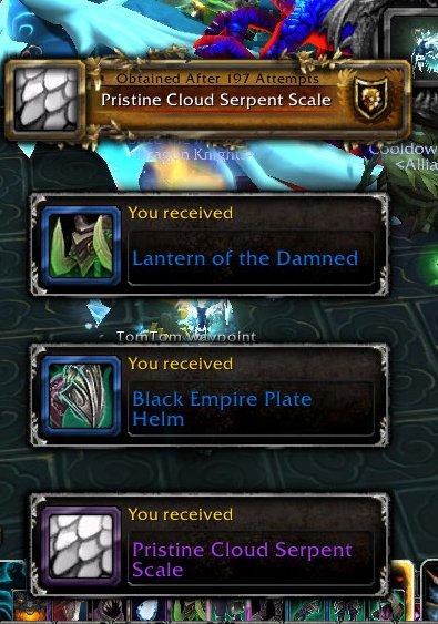 Pristine Cloud Serpent Scale - Item - World of Warcraft