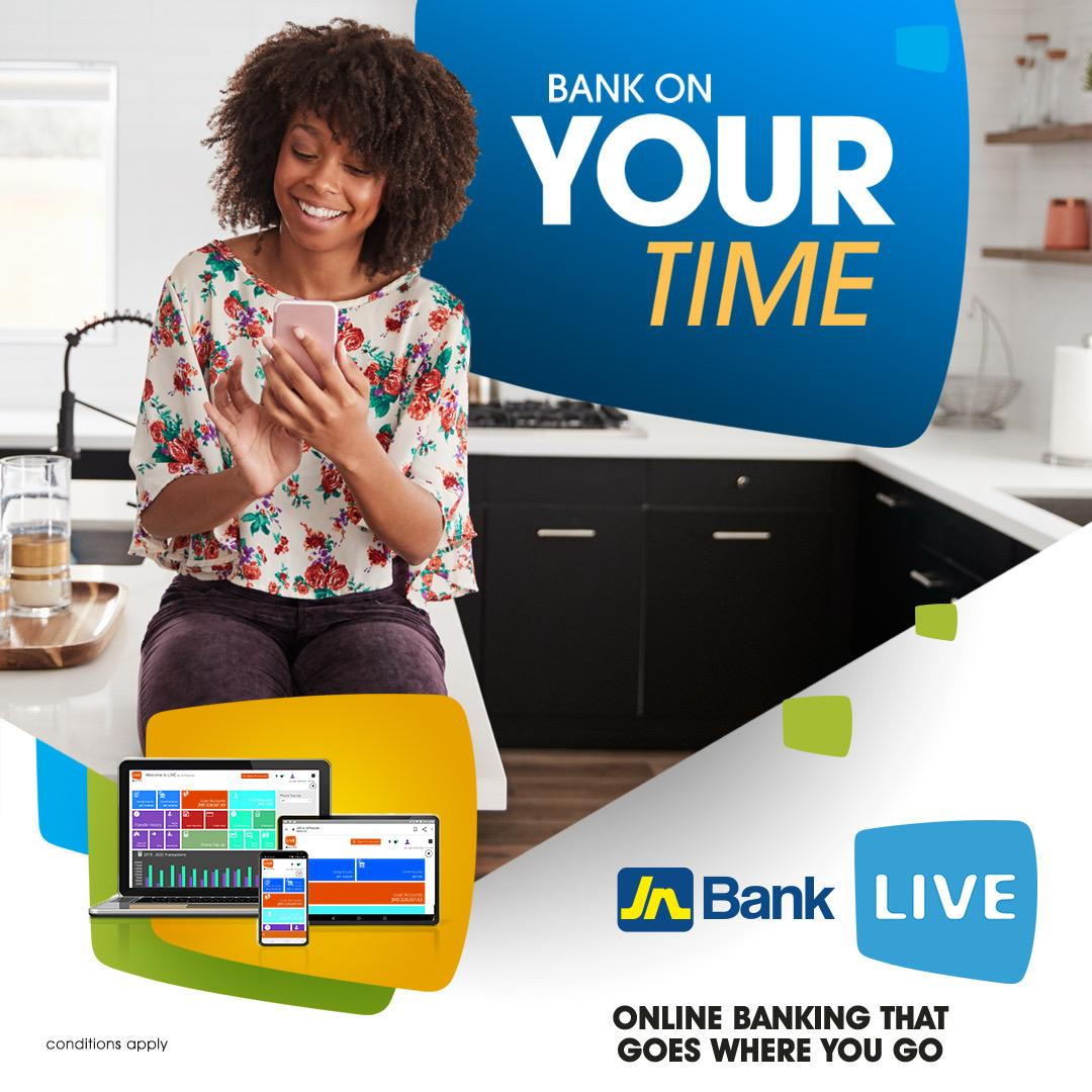 Jn Bank On Twitter Have You Signed Up For Jn Live Conducting Your Banking Transactions From The Convenience Of Your Home Is Made Easy When Using The Jn Live Online Banking Platform