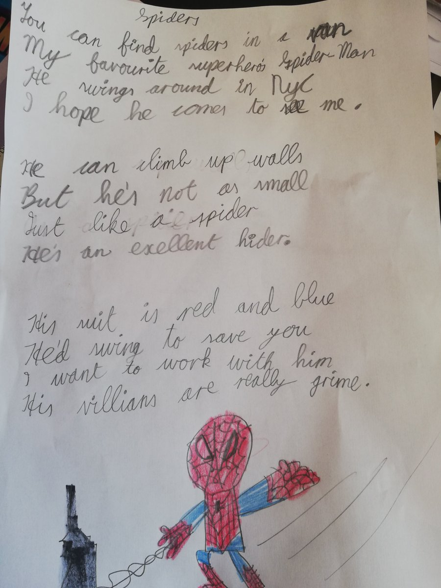 Spider Man Poem : spider, Heeney, Twitter:,