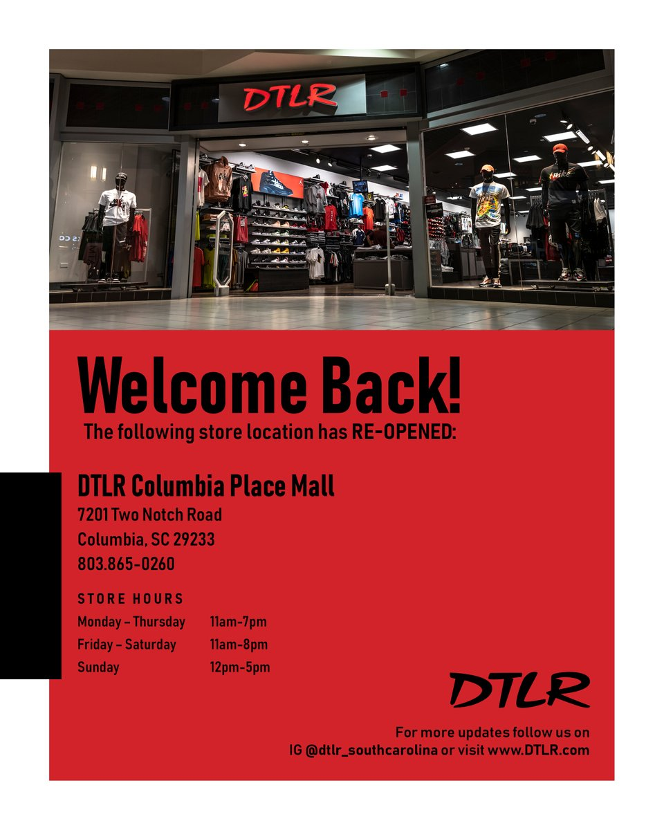 Columbia Place Mall Stores : columbia, place, stores, VILLA, Twitter:,