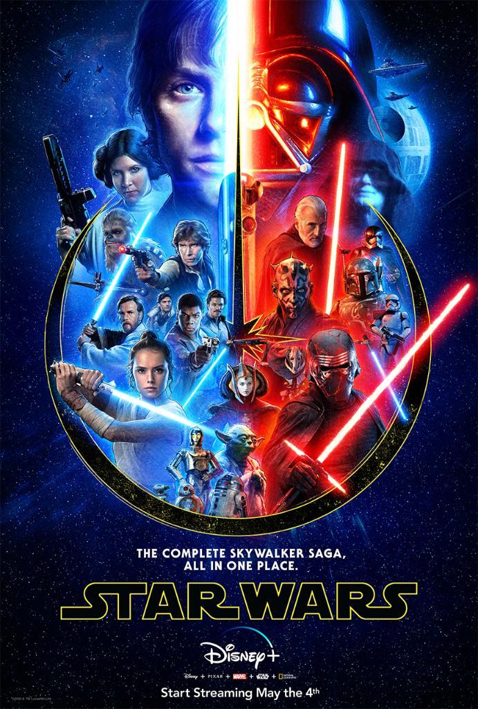 Star Wars 2 Streaming Hd : streaming, Twitter:, Complete, Skywalker, Saga,, Place., Stream, Movies, #DisneyPlus.…