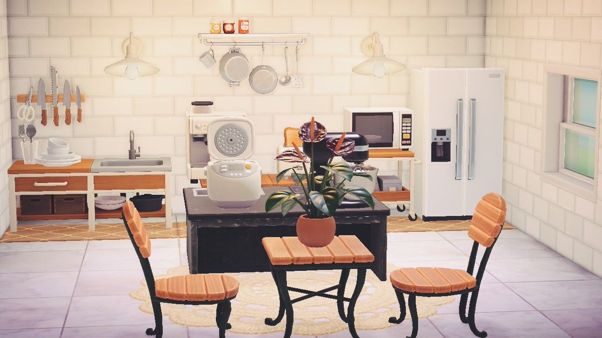 𝙽𝚘𝚎𝚖𝚒 On Twitter Finally Finished My Kitchen In Acnh It Took My So Long But Now I M Really Happy With How It Looks Animalcrossing Animalcrossingnewhorizons Nintendoswitch Https T Co Sx8wmhnjpk
