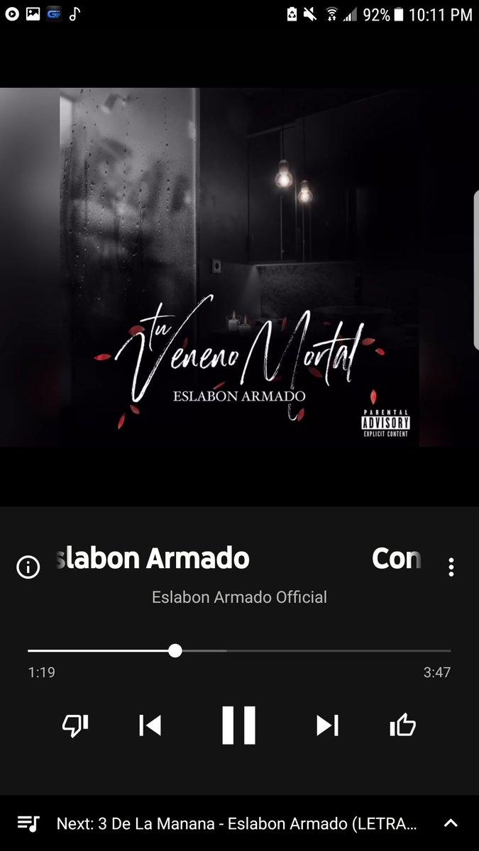 Ex Eslabon Armado Lyrics : eslabon, armado, lyrics, Tuvenenomortal, Hashtag, Twitter
