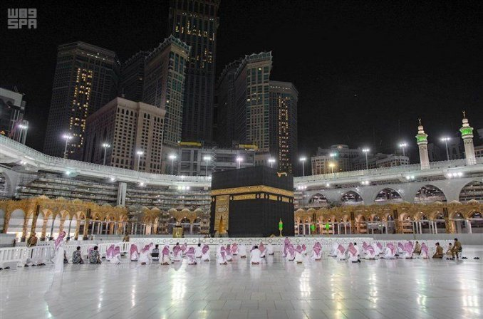 "Haramain Sharifain on Twitter: ""Scenes during Taraweeh prayers in ..."