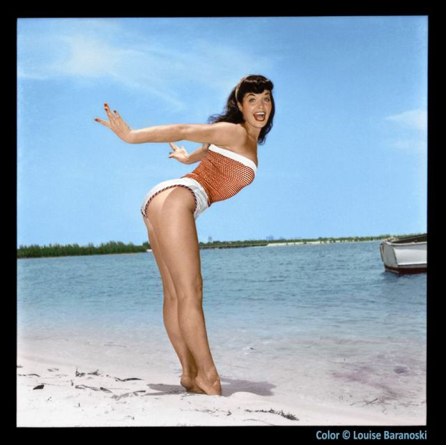"""Bettie Page on Twitter: """"Diving headfirst into a fun relaxing"""