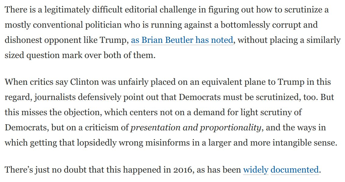 , Bigly-gate: lending a dishonest weaponizing of information any aura of credibility is disinformation, The Politicus
