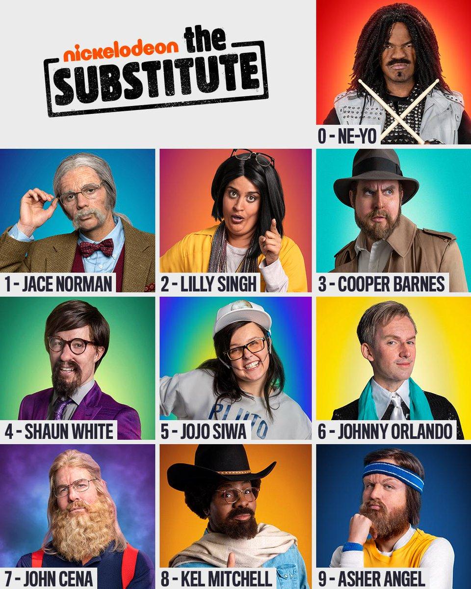 Jojo Siwa The Substitute : substitute, Nickelodeon, Twitter:,