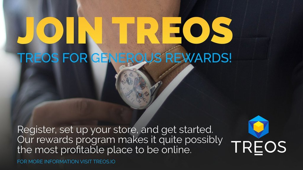 Don't delay in registering for #TREOS. Participate in a system that rewards you ... 7