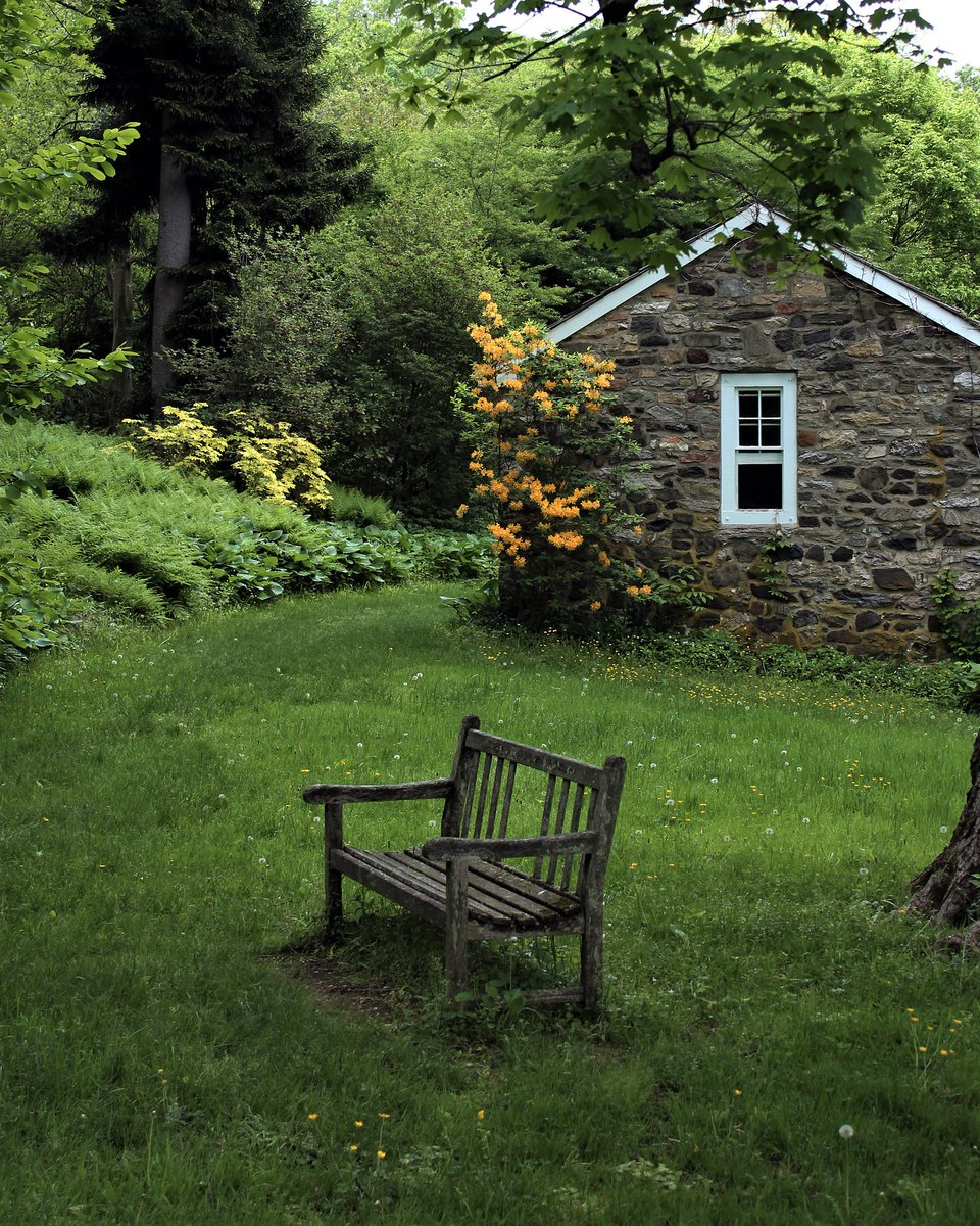 Tyler Arboretum On Twitter This Hidden Spot Below A Giant Sugar Maple Tree And Nestled Beside The Old Spring House Is A Wonderful Place To Rest How Would You Spend Your Time