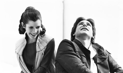 Harrison and Carrie on Bespin