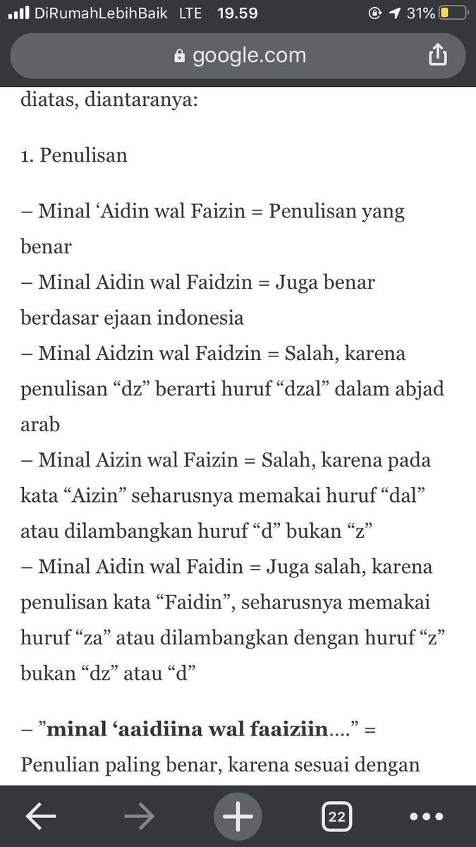 Tulisan Arab Minal Aidin Wal Faidzin : tulisan, minal, aidin, faidzin, Nabila, Rahmani, Twitter: