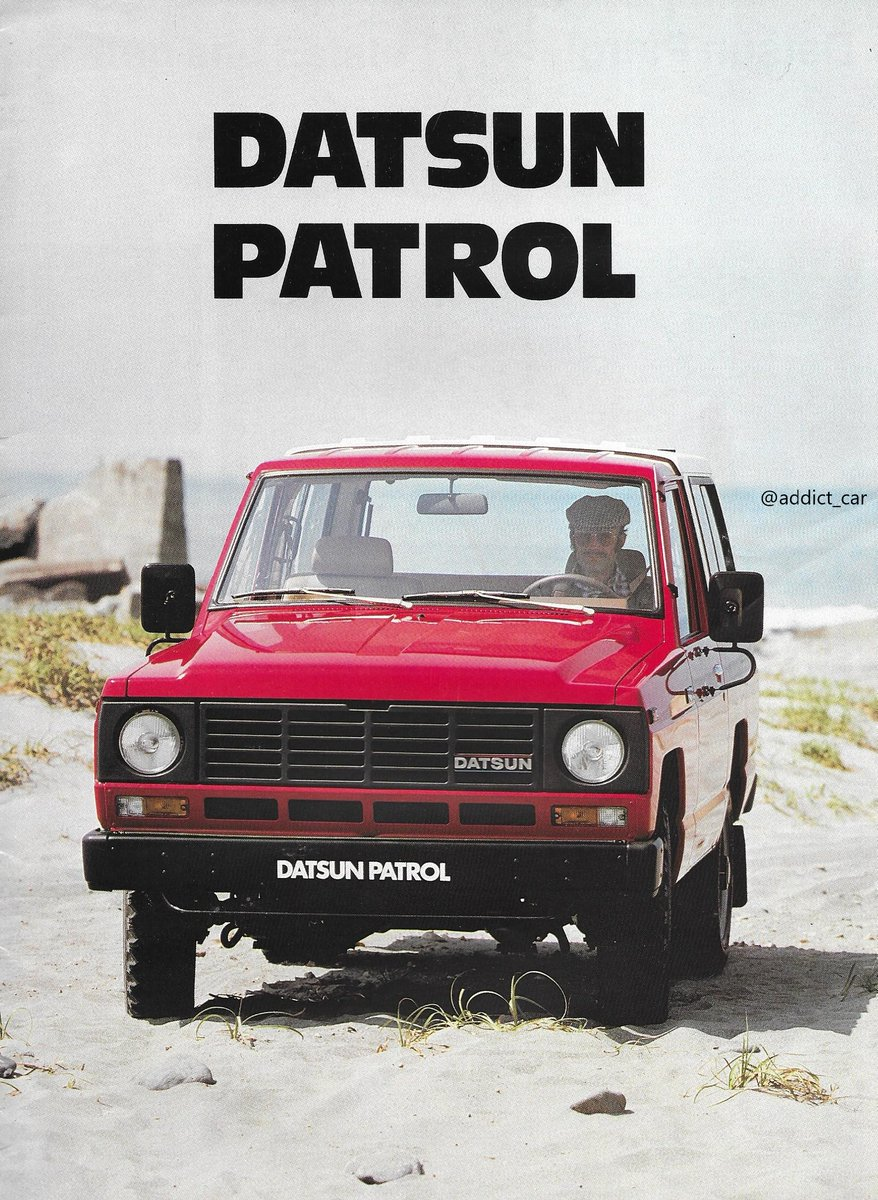 Nissan Patrol Indonesia : nissan, patrol, indonesia, CarBrochureAddict, Twitter:, Generation, Nissan, Patrol, (type, First, Widely, Europe., Helped, Shake, Local, Market.
