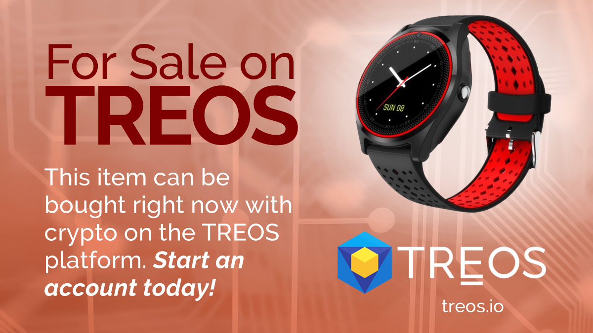 You can purchase this and so much more on #TREOS. Start an account today.  #TREO... 1