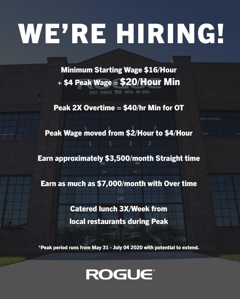 Rogue Fitness Jobs, Employment | Indeed.com