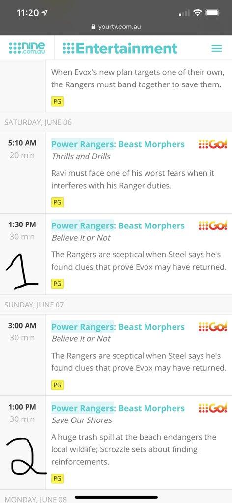Power Rangers Beast Morphers Believe It Or Not : power, rangers, beast, morphers, believe, Power, Scoop, Twitter:,