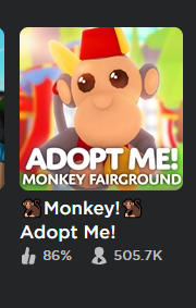 must adopt 43 monkeys then you get the