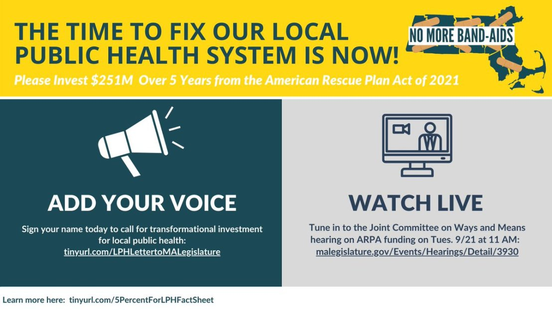 Pleased to have FRCOG representing rural local #PublicHealth at today's hearing on federal ARPA funds. https://t.co/ZmYI23fFYc