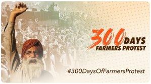 بھارت:زرعی قوانین کخلاف کسانوں کی تحریک کے 300دن مکمل