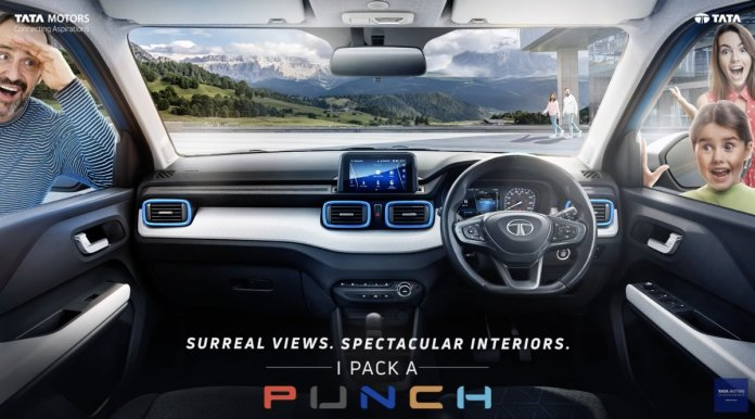 """SHIFTING-GEARS.com on Twitter: """"#Tata #Punch interior cabin revealed, will rival #Citroen #C3 #SUV: https://t.co/JVbgmREoMP… """""""