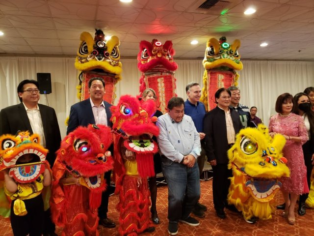 Bruce Harrell celebrating with Chinese American community.