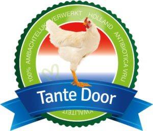 Primeur… Vanaf volgende week gaan in Noord-Oost Nederland de eerste Tante Door antibiotica vrije Kip dealers van start. De gezonde Kip uit de kippenstallen van de lokale boeren, (alsook allergeen en glutenvrij gekruid).    Nieuwsgierig? Zie de website: https://t.co/nz9qz443pc