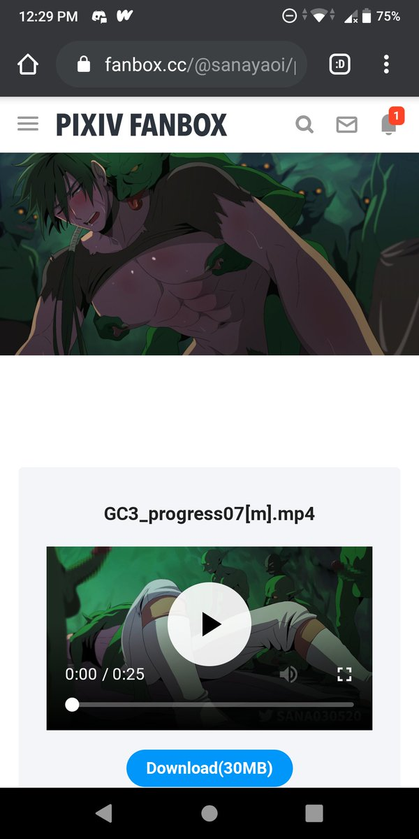 Sana Goblin Cave 3 : goblin, Twitter:, Opened, SubscribeStar, Https://t.co/uoHAyyDQRa, GoblinCave, Vol.03, Processing, Updated.…