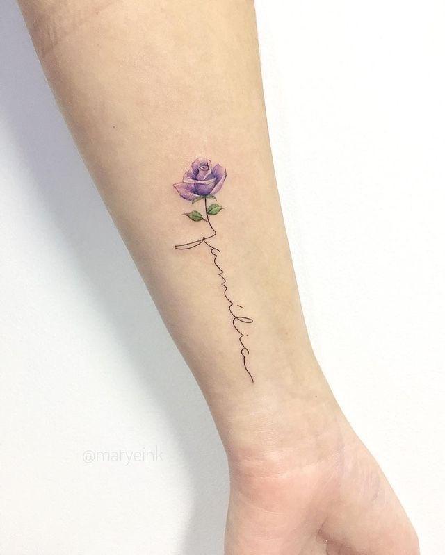 Word Stem Tattoo : tattoo, ♡ೃ୭, Erika, ˎˊ˗, Twitter:, Getting, Tattoo, Orange, Loves, Flowers, Thinking, About