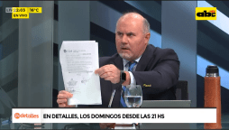 """ABC TV Paraguay a Twitter: """"#JEM """"El Paraguay se adhirió al sistema jurídico positivista. Este tipo (diputado Hernán Rivas) si esto era Estados Unidos, iba a estar en una cárcel, traje naranja"""