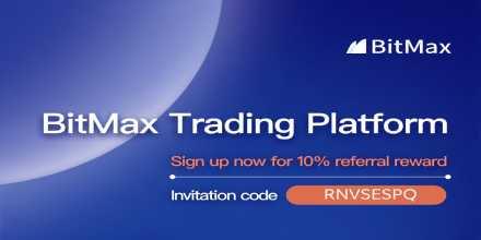 Start Trading $BTC On BitMax   Sign up now for 10% referral reward    ... 1