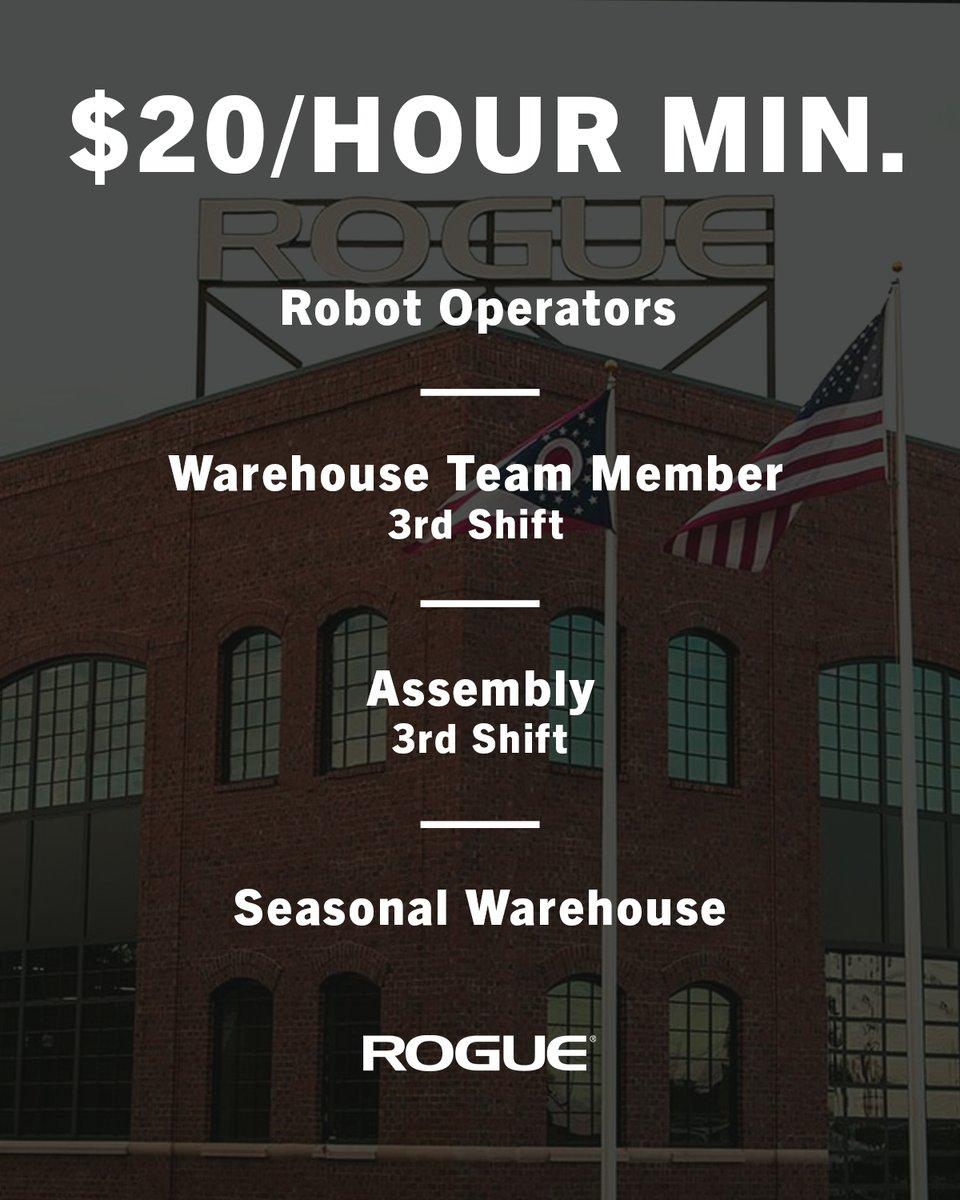 Rogue Fitness Jobs Columbus Ohio : rogue, fitness, columbus, Rogue, Fitness, Twitter:,