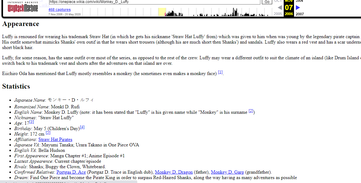A reddit thread has translated a question from volume 96 of the one piece manga, where a fan asked oda why luffy does not give nicknames to the members of his crew. One Piece Wiki On Twitter Luffy S Page Was Created On April 11 2006 Being The Third Wiki Page Created After The Main Page And The Straw Hat Pirates Page Most Of The