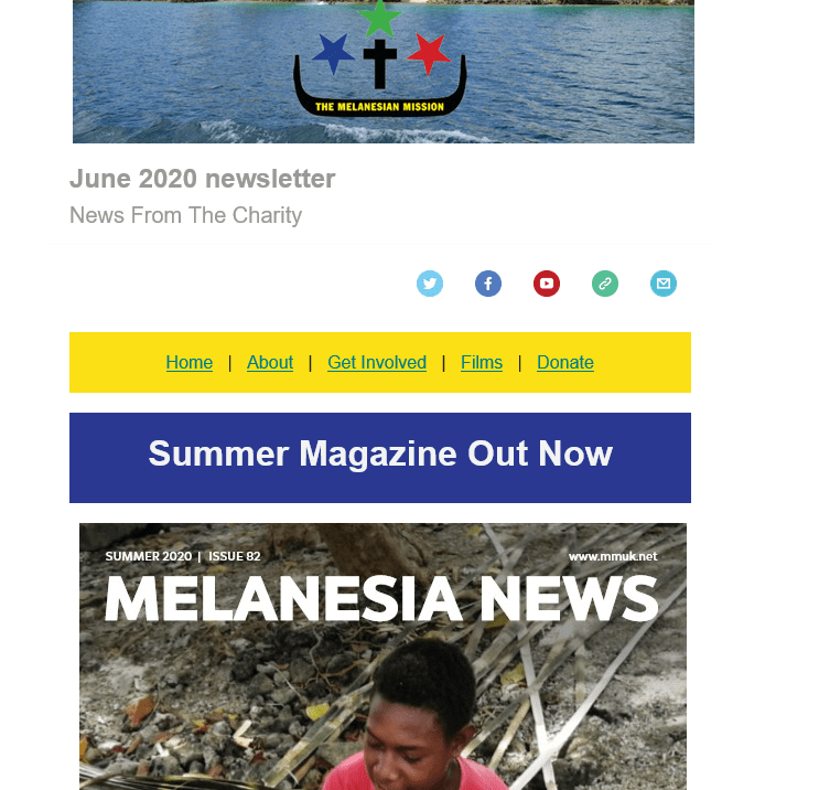 This month's email newsletter from the charity is out now. Subscribe here https://t.co/6wZ3di2bIY