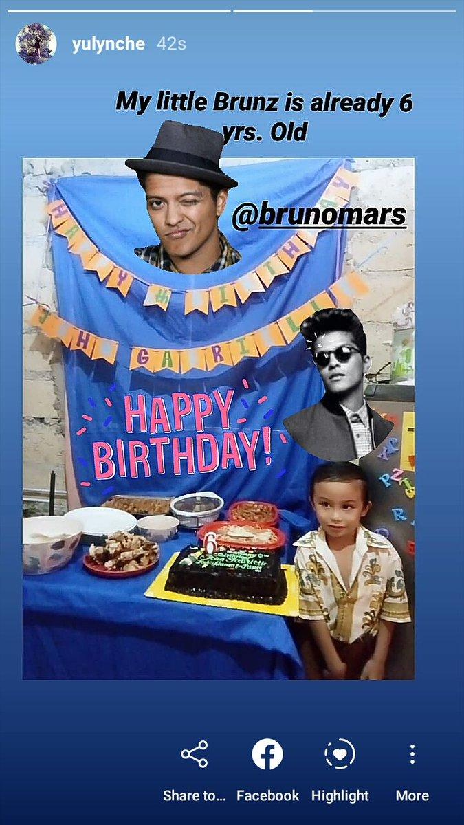 It's My Birthday Bruno Mars : birthday, bruno, (@LynCheYu1), Twitter