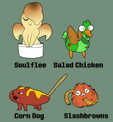 BroDumpster on Twitter: Another set of four Food Monsters Slashbrowns is not only my personal fave but certain people might recognize the design #myart #myartwork #food #monster #foodmonster #characterdesign #originaldesign #originalcharacter #oc #
