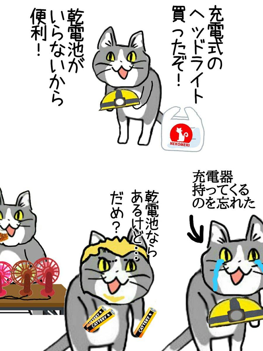 せっかく充電式のを買ったのにどうして… #現場貓 | 話題の畫像 ...