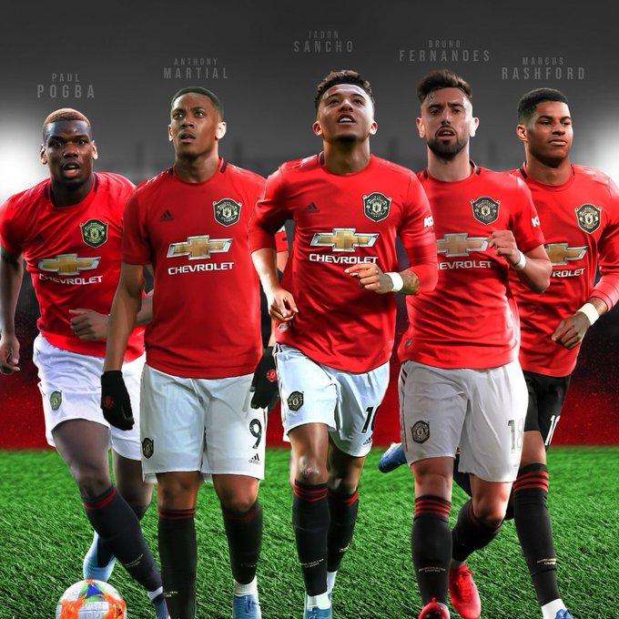 "Man United in Pidgin on Twitter: ""Manchester United don upgrade from: Old  Cargo (under Mourinho): 1. Perisic 2. Lukaku 3. Willian 4. Sanchez 5.  Felliani To (under Ole Gunnar Solskjaer): 1. Jadon"