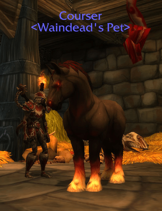 Tameable Pets Wow : tameable, Petopia, Twitter:, Demonic, Horse, Tameable, Shadowfang, Keep., Classed, Beast, Don't, Think