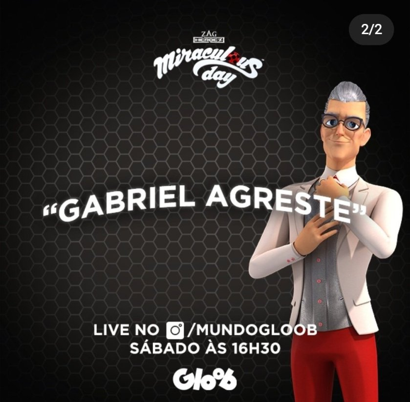"""Gloob has released that one of the episode names from season 4 will be called """"Gabriel Agreste""""!"""