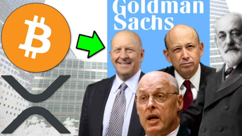 GOLDMAN SACHS CAPITULATES!.... ALL IN WITH BITCOIN & CRYPTO - RIPPLE XRP & OCC R... 2