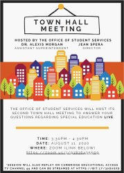 Town Hall Meeting Flyer 1
