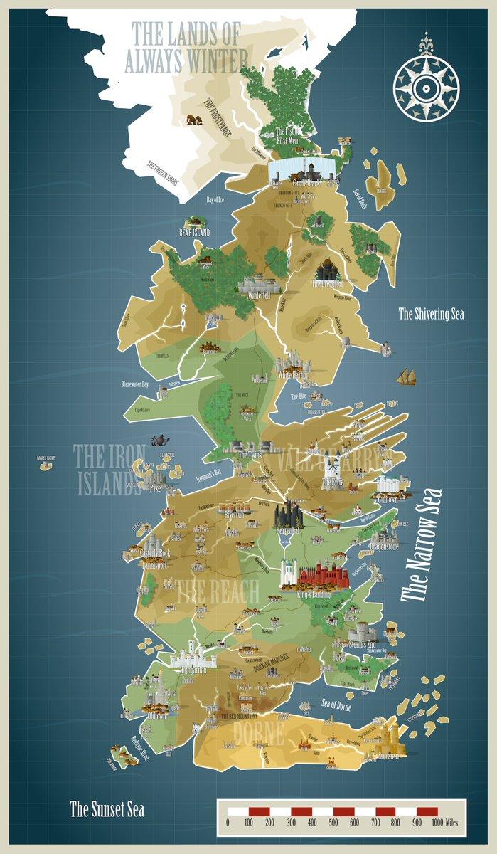 Asoiaf Map : asoiaf, WesterosCraft, Twitter:,