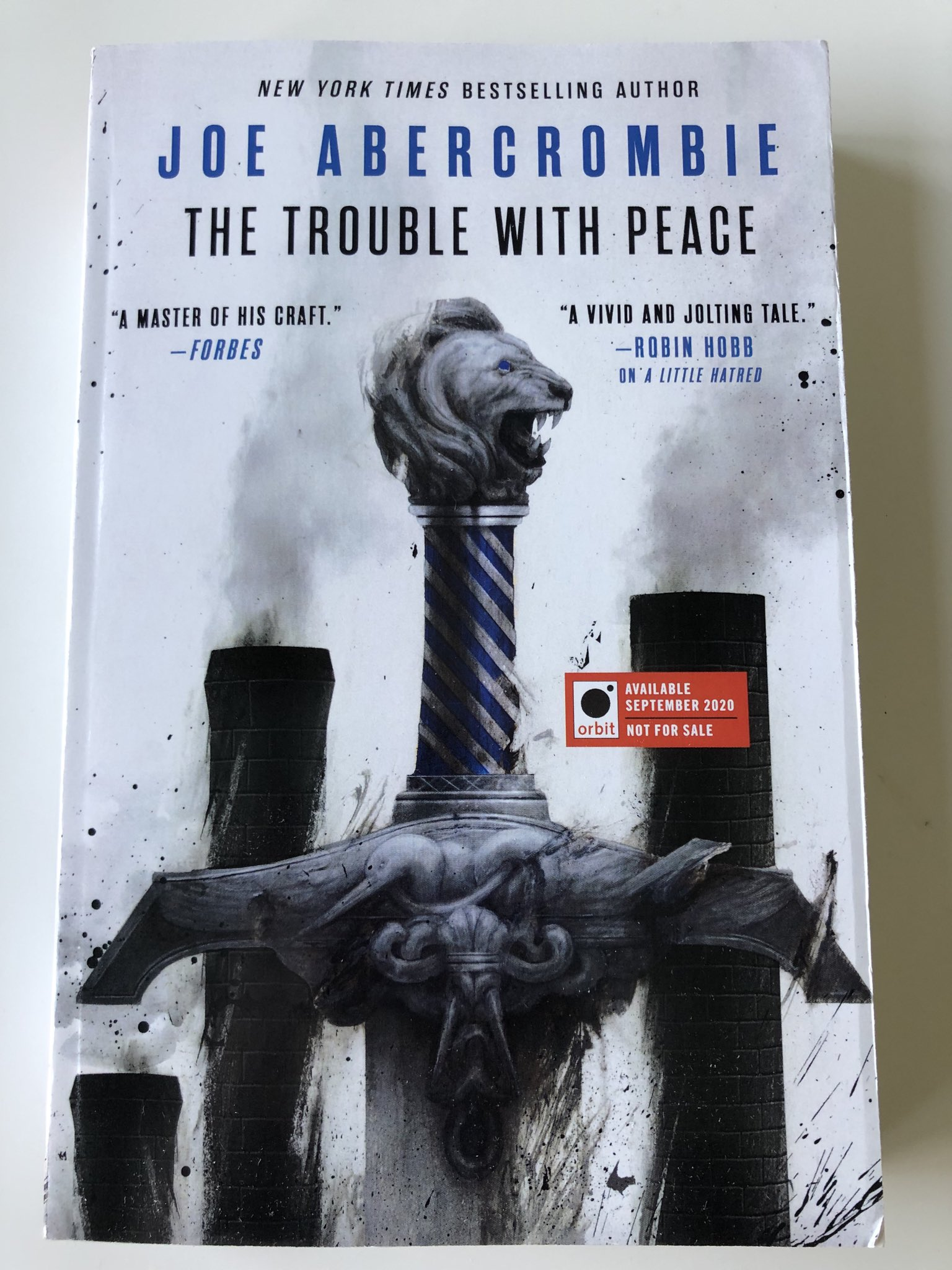 The Trouble With Peace : trouble, peace, Abercrombie, Twitter:,