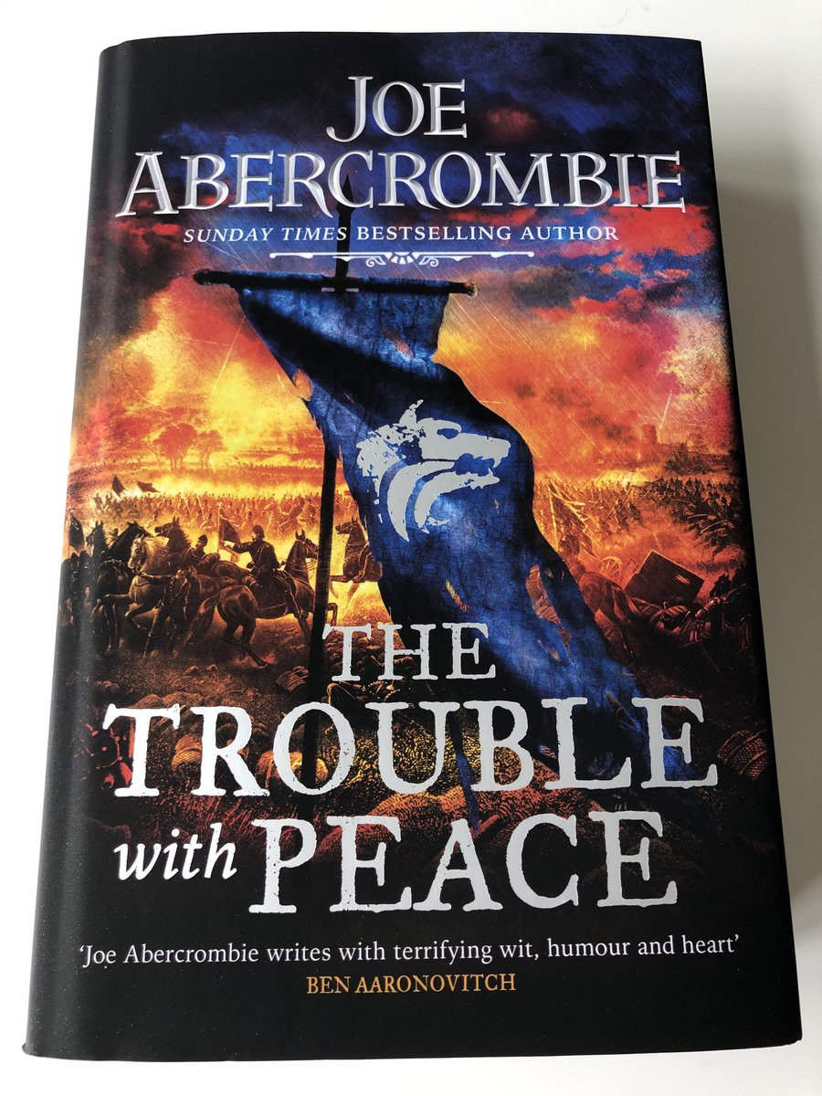 The Trouble With Peace : trouble, peace, Abercrombie, Twitter:, Stunning, Hardcover, Trouble, Peace, Dropped, Through, Door,, Masters, @Gollancz, Tomas, Almeida.…, Https://t.co/8G2XAWcD5n