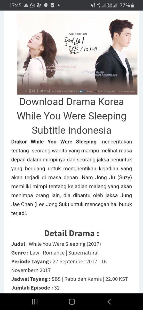 Sudah Tayang di Indosiar, Sinopsis Drakor While You Were