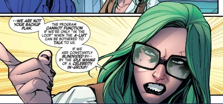 """✵ Captain Marvel NEWS on Twitter: """"EMPYRE AFTERMATH: AVENGERS #1 there's a moment between Carol and Brand. Even though she had her point, Abigail shouldn't have slapped Carol. Also it made me"""