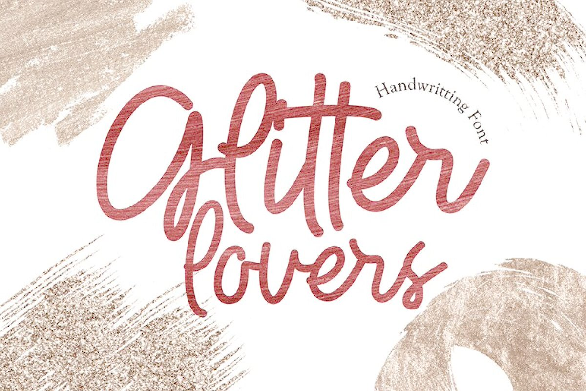 Fonts2u Com On Twitter Glitter Lovers By Icep Anwar Fadhil Https T Co Yct6xgjauh Typography Freefont Font Handwrittenfont Scriptfont Https T Co H8abe77bum