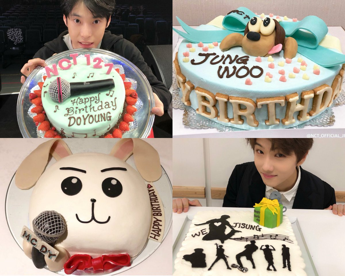 What threw it off was how smushed half. Lina On Twitter Thinking About The Nct Cakes Prepared By Their Japanese Staff